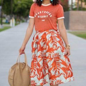 H&M A Line Skirt